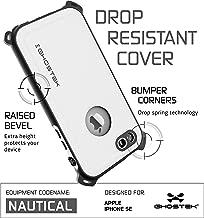 Ghostek iPhone SE Waterproof Case, Nautical Series for Apple iPhone 5, 5S & SE | Underwater | Shockproof | Dirt-Proof | Snow-Proof | Warranty | Adventure Ready | Ultra Fit | Swimming (White)