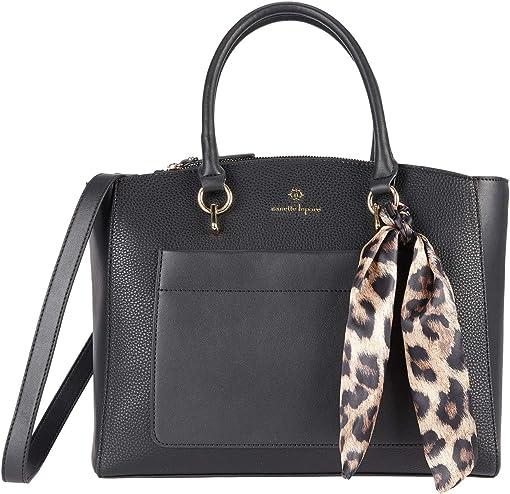 Black/Cheetah Scarf