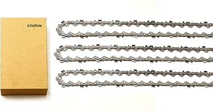 tallox 3 14 Inch Chainsaw Chains 3/8 LP .043 Inch 50 Drive Links fits Stihl