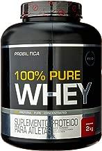 100% Pure Whey - 2000G Morango - Probiótica, Probiótica
