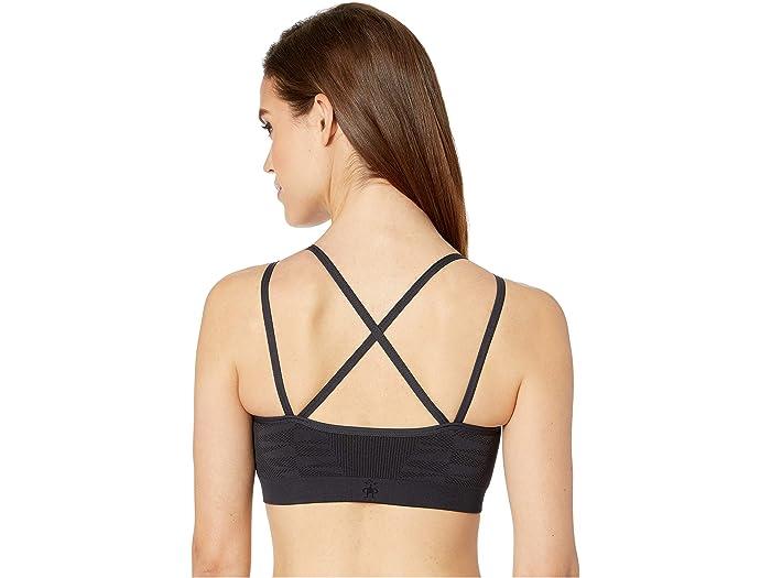 Smartwool Seamless Strappy Sports Bra Women/'s Merino Wool Performance Bra
