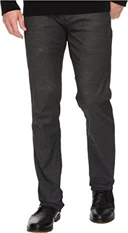 Slim Straight Jeans in Rinse Black
