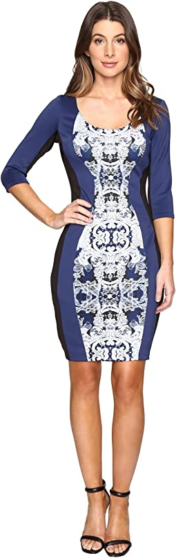 Scuba Print Dress