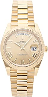 Rolex Day-Date Mechanical (Automatic) Champagne Dial Mens Watch 228238 (Certified Pre-Owned)