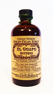 El Guapo Bitters Creole Orgeat - Spiced Pecan Syrup (8.5 oz)