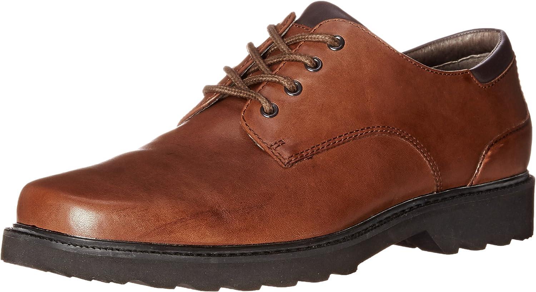 Rockport Men's Northfield Oxfords- Dark Brown-11 M
