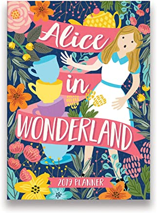 Alice in Wonderland 2019 Planner