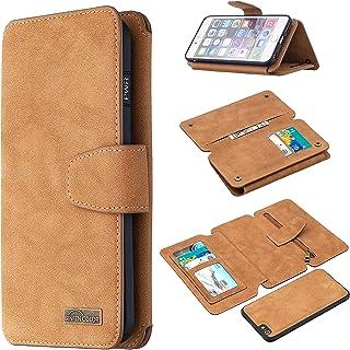[BF07] Etui do Apple iPhone 6 PLUS A1522 A1524 etui na telefon z klapką zamek portfel pokrowiec skóra 1
