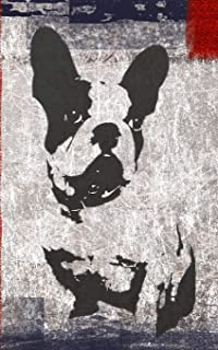 French Bull(et)Dog Journal: French Bulldog Bullet Journal - Diary: Dotted Grid: Bullet : 5 X 8: 200 Pages