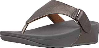 Womens Sarna Leather Toning Thong Sandals