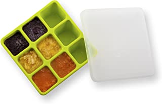 Nuby Garden Fresh Freezer Tray with Lid, Colors May Vary