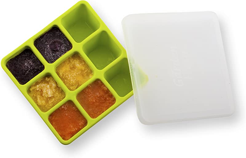 Nuby Garden Fresh Freezer Tray With Lid Colors May Vary