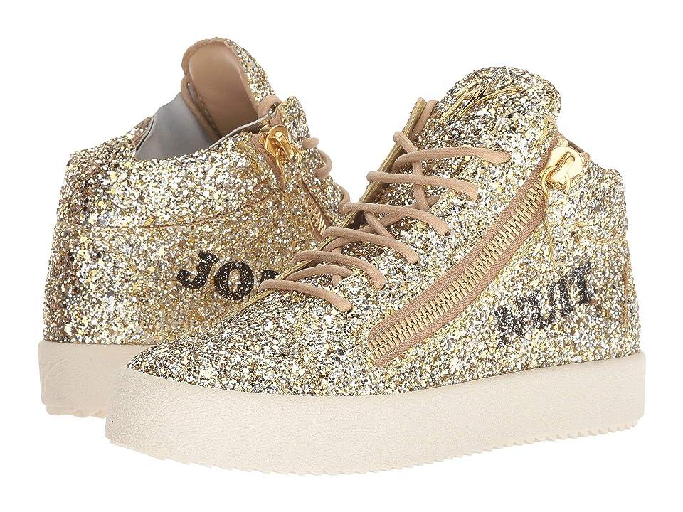 Giuseppe Zanotti RW80057 (Glitter Argold) Women's Shoes