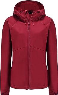 Women's Fleece Lined Softshell Waterproof Jacket...