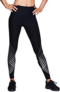 RBX Active Women's Contour Graphic Full Length Athletic Leggings