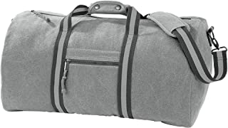 Quadra Vintage Canvas Holdall Duffle Bag - 45 Litres (Pack of 2)