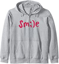 Positive Message Smile Hippie Peace Love Earth Birthday Gift Zip Hoodie