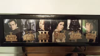 Disney D23 Expo 2015 Exclusive Star Wars Episode I - VI Darth Vader Boba Fett LE Pin Set