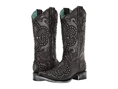 Corral Boots E1534 (Black) Women