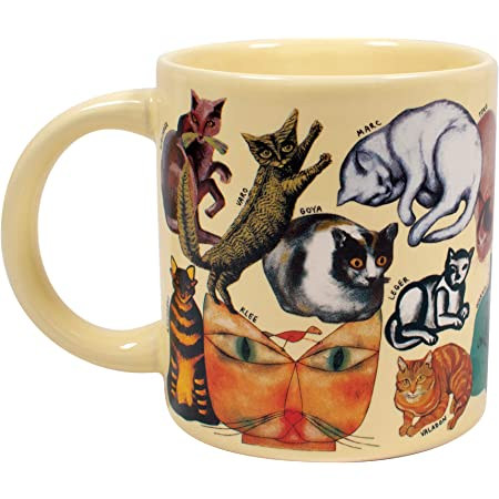 The Unemployed Philosophers Guild Brief History Of Art Coffee Mug History S Greatest Masterpieces From Da Vinci To Koons Comes In A Fun Gift Box Kitchen Dining