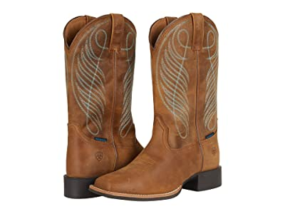 Ariat Round Up Wide Square Toe H2O