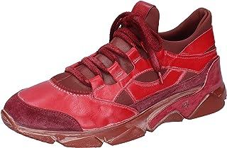 MOMA Sneaker Uomo Pelle Rosso