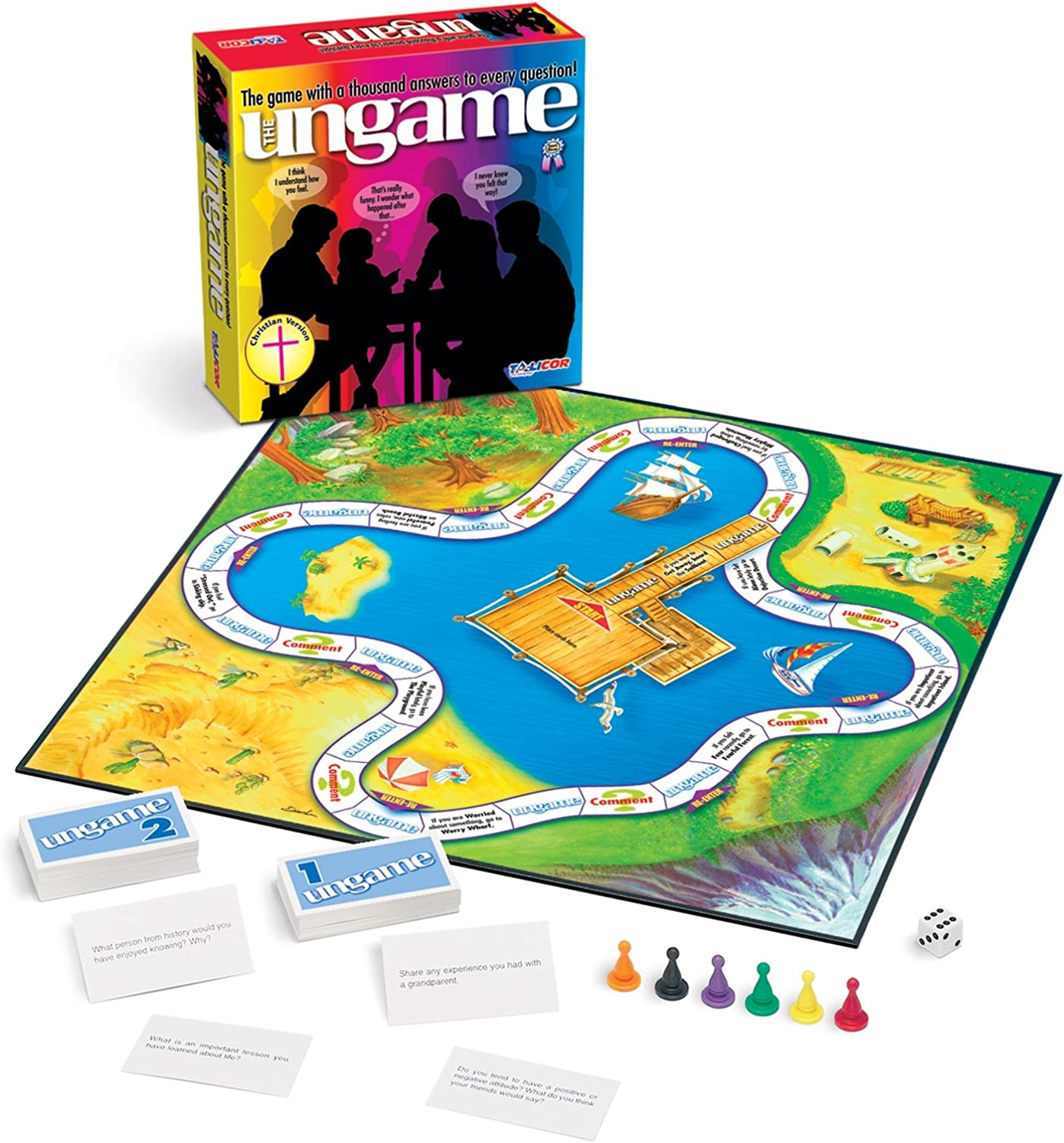Talicor 1201 The Ungame- Christian Version