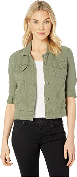 Two Palms Raw Edge Jacket