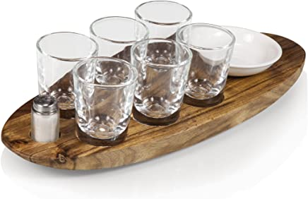 featured product Legacy-A Picnic Time Brand Cantinero 6-Shot Glass Serving Set