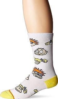 Cool Socks Men's Punkbob Squarepants Varsity