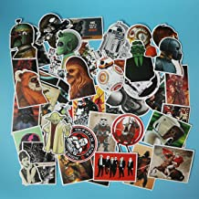 Star Wars Stickers Cartoon Laptop Stickers Cute Girl Vinyl Sticker Computer Car Skateboard Motorcycle Bicycle Luggage Guitar Bike Decal 50pcs Pack