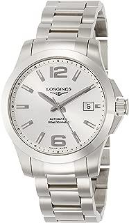 [ロンジン] 腕時計 コンクエスト 自動巻き L3.676.4.76.6 メンズ 正規輸入品 シルバー