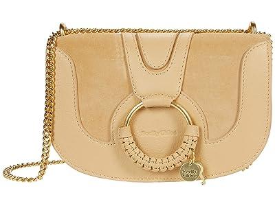 See by Chloe Hana Chain Crossbody Bag (Seed Brown) Cross Body Handbags
