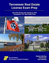 Tennessee Real Estate License Exam Prep: All-in-One Review and Testing to Pass Tennessee's PSI Real Estate Exam PDF