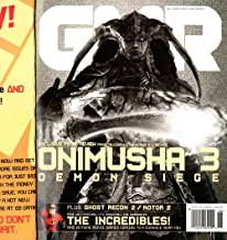 GMR Magazine - June, 2004. Issue # 17, The Samurai Issue. With original Promotional Outer Cover. Onimusha 3 - Demon Siege; Ghost Recon 2; Kotor 2; The Incredibles!; Spider-Girl; Kirsten Dunst; Pariah, Dark Sector; Monster Hunter; etc. etc.