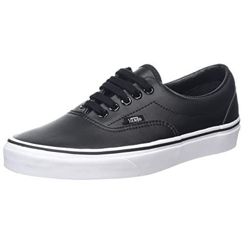 d339a9028081 Vans Mens Classic Tumble Era Leather Trainers