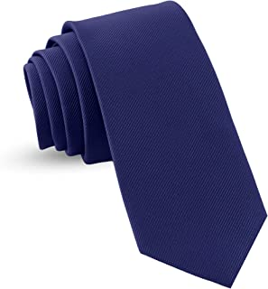Handmade Ties For Men: Skinny Woven Slim Tie Mens Ties: Thin Necktie, Solid Color & Dots Neckties