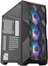 Cooler Master MasterBox TD500 Mesh Airflow ATX Mid-Tower w/E-ATX Support, Polygonal Mesh Front Panel, Crystalline Tempered Glass & 3 ARGB Fans w/Controller (MCB-D500D-KGNN-S01)