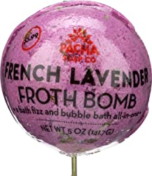 Pacha, Froth Bomb French Lavender Round, 5 Ounce