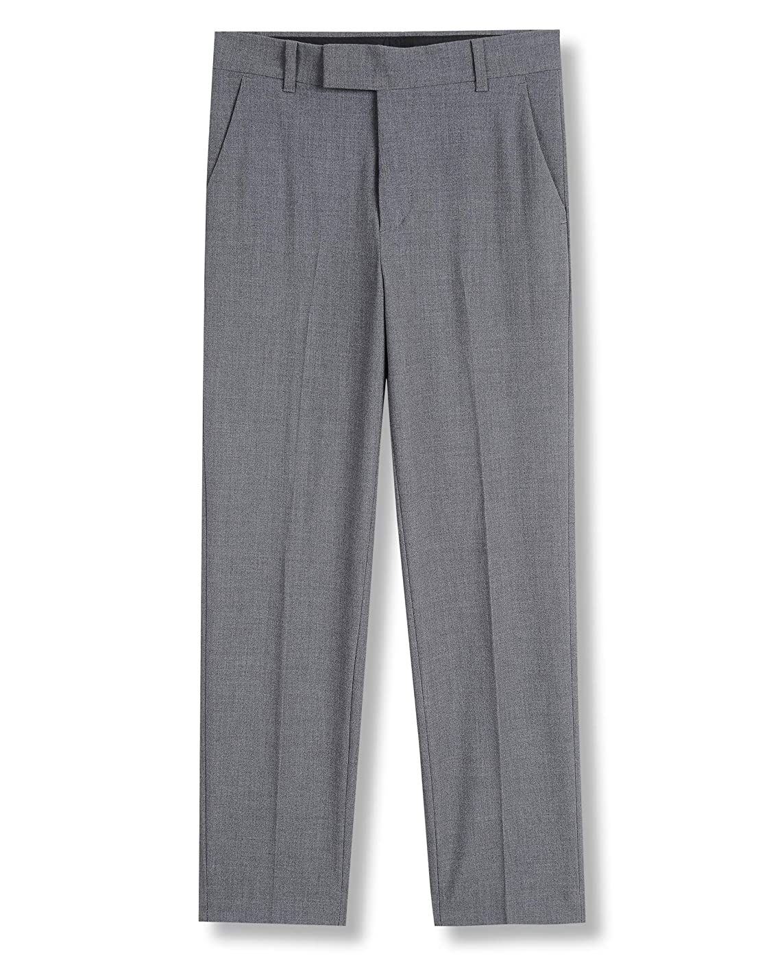 Calvin Klein Boys' Bi-Stretch Flat Front Dress Pant