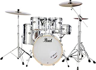 Pearl Export 5-pc. Drum Set w/830-Series Hardware Pack (cymbals not included), MIRROR CHROME (EXX705N/C49)