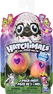 Hatchimals CollEGGtibles - 2-Pack + Nest with Season 4 Hatchimals CollEGGtible, for Ages 5 and Up (Styles and Colors May Vary)