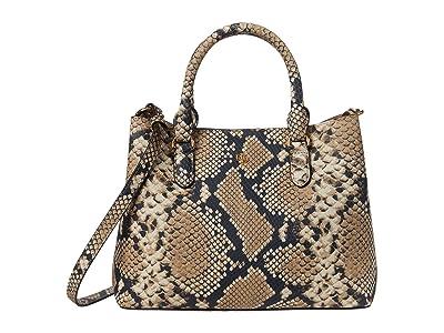 LAUREN Ralph Lauren Marcy II Satchel (Nude) Handbags