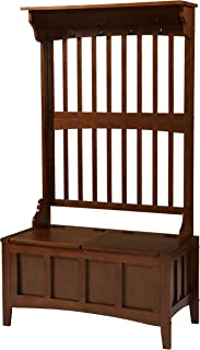 Linon Hall Tree with Storage Bench, 36