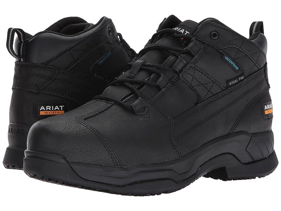 Ariat Contender H2O Steel Toe (Matte Black) Men
