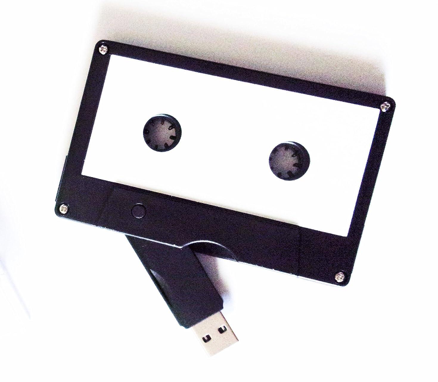 Cassette Tape USB Stick Flash Drive, 8 GB, 2.0 USB- DIY Design, Data Storage, Flash Drive, Jump Drive, Computer Data, Music Storage, Picture Storage, Custom Gift