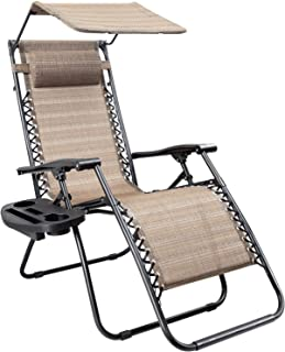 Best zero gravity chair canopy Reviews