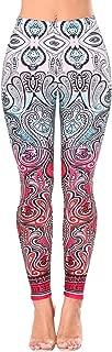 Women's Bright Color Tie Dye Print Ankle Legging Pants