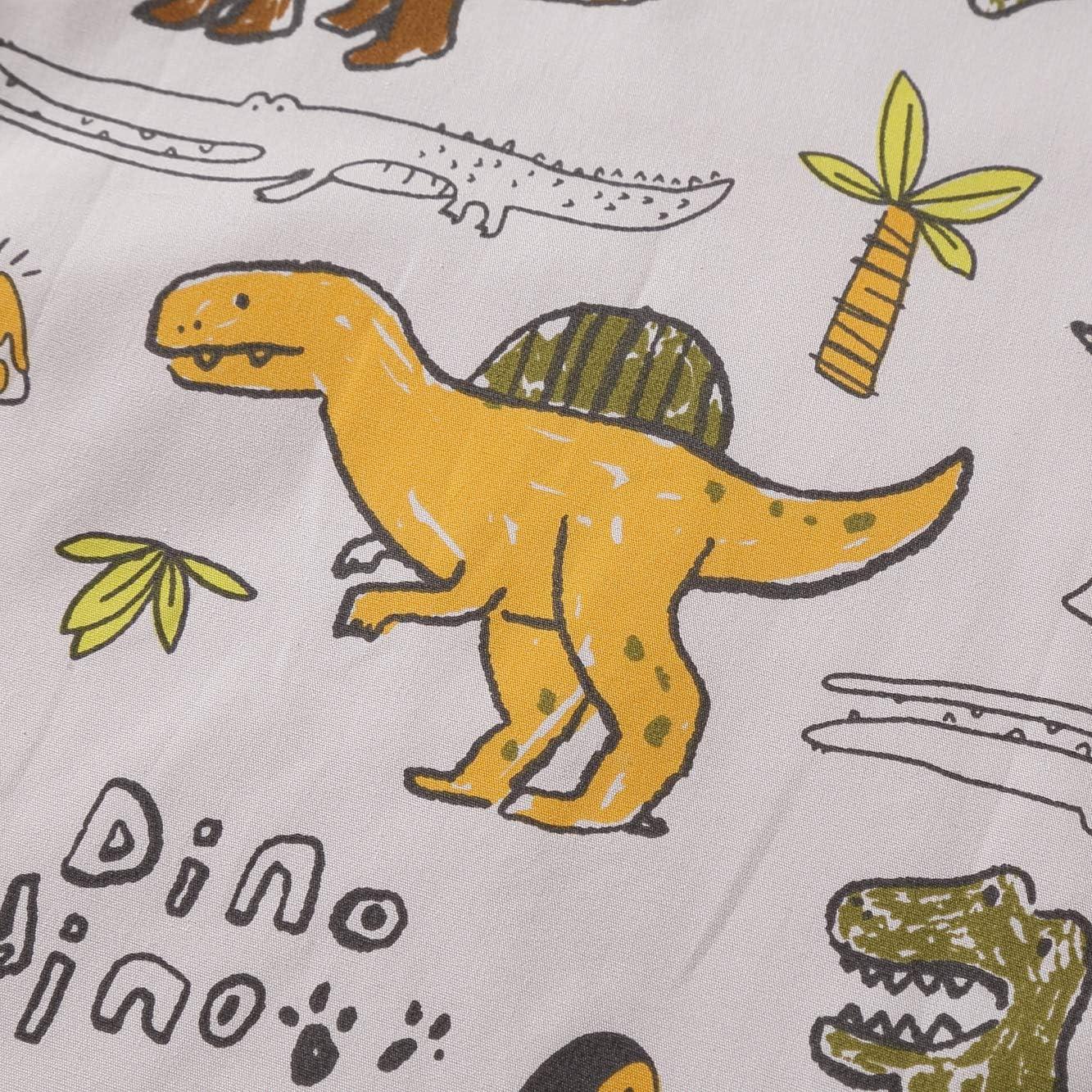 Gigoteuse sans manches Animal Cartoon Gigoteuse d/ét/é pour b/éb/é Couverture lavable 1.0 tog Printemps 6-12 mois, petit dinosaure