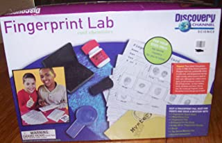 Discovery Channel Science Fingerprint Lab Cool Chemistry